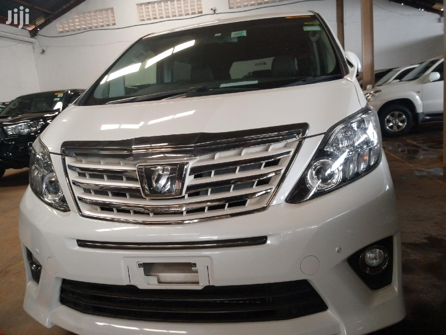 New Toyota Alphard 2012 White | Cars for sale in Kampala, Central Region, Uganda