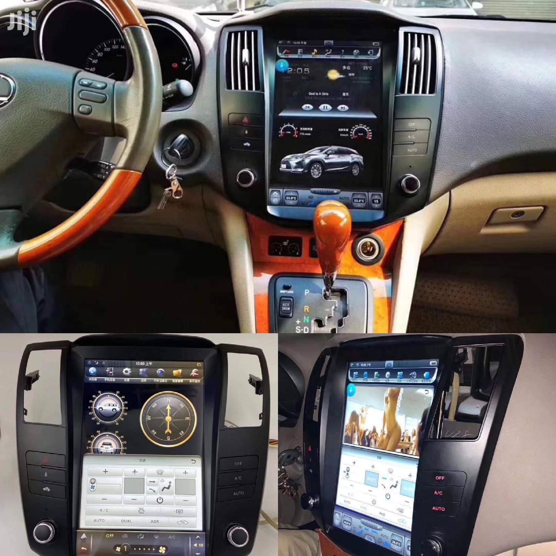 Car Radio For Harrier Hybrids