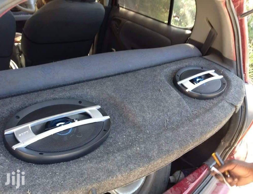 Oval Car Speakers