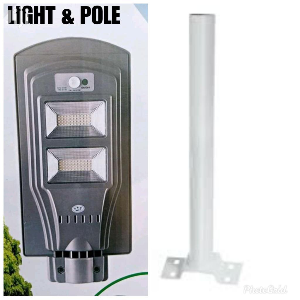 60W Solar Motion Sensor Light