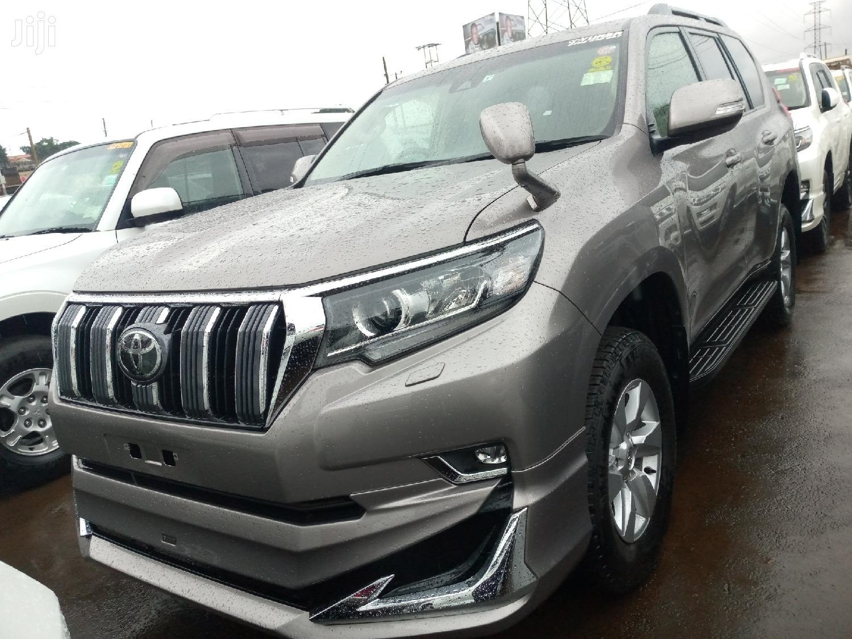 New Toyota Land Cruiser Prado 2019 Brown in Kampala - Cars ...