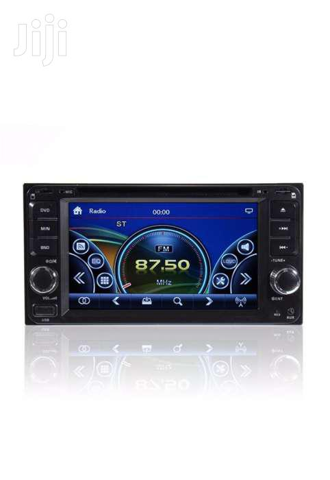 Double Know Car Dvd Player With Bluetooth Radio