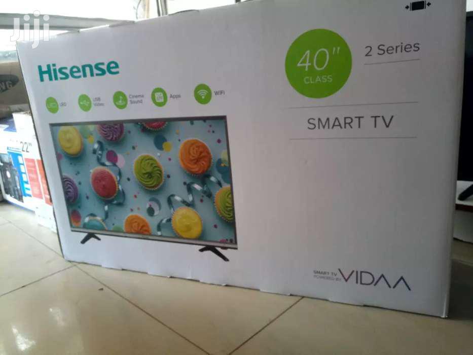 40' Hisense Smart Flat Screen Digital TV | TV & DVD Equipment for sale in Kampala, Central Region, Uganda