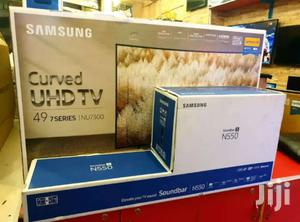 49inches Samsung Curve And Sound Bar   Audio & Music Equipment for sale in Central Region, Kampala