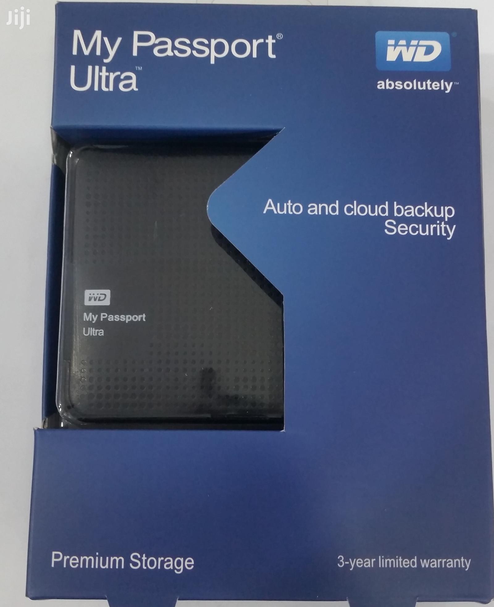 WD 3.0 My Passport Ultra External Hard Disk Case For Laptop
