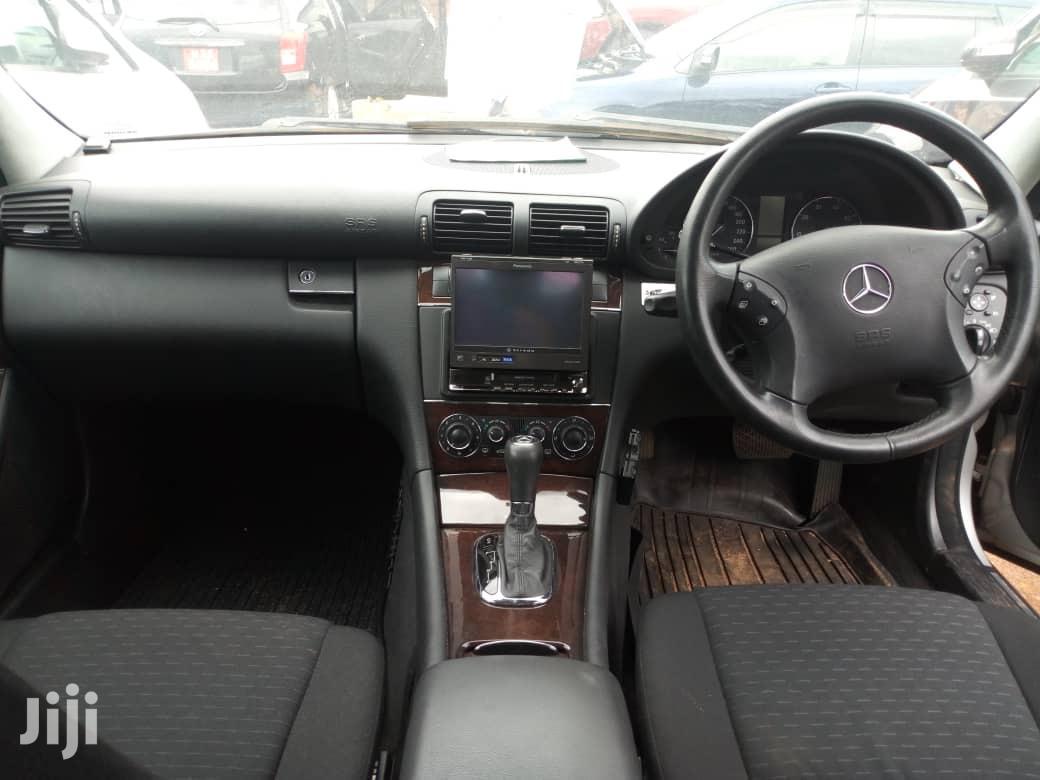 Archive: Mercedes-Benz C200 2005 Silver