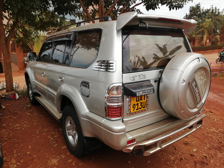 Toyota Land Cruiser Prado 1998 Silver