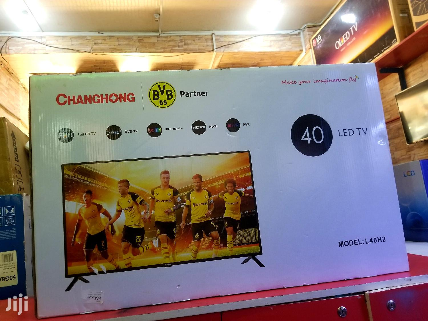 Changhong Flat Screen TV 40 Inches | TV & DVD Equipment for sale in Kampala, Central Region, Uganda