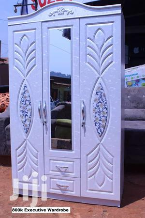 3doors Wardrobe White Colour | Furniture for sale in Central Region, Kampala