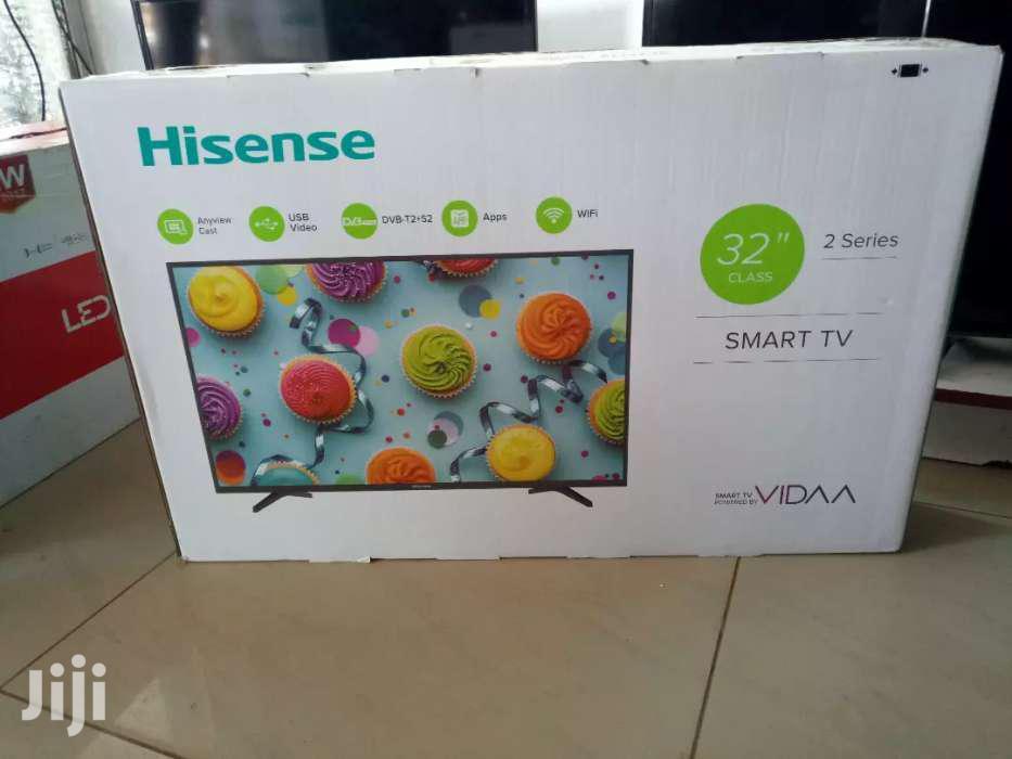 32' Hisense Smart Flat Screen Digital TV   TV & DVD Equipment for sale in Kampala, Central Region, Uganda