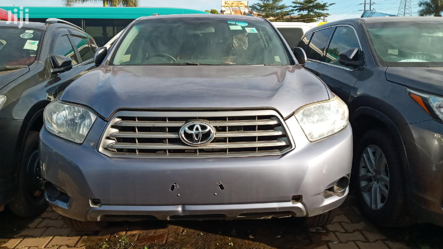 Toyota Kluger 2009 Gray