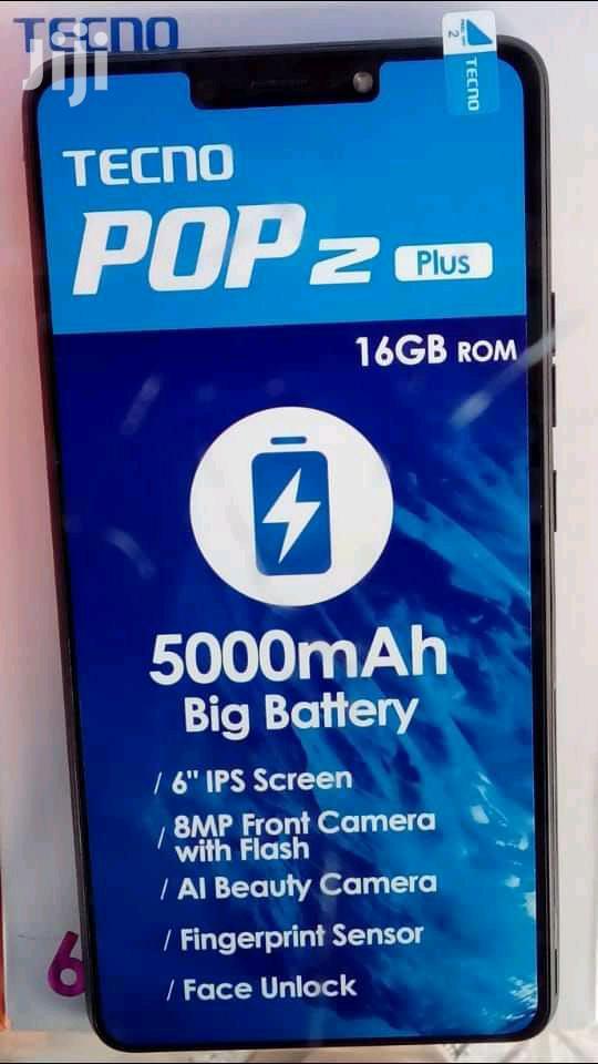 New Tecno Pop 2 Plus 16 GB Black