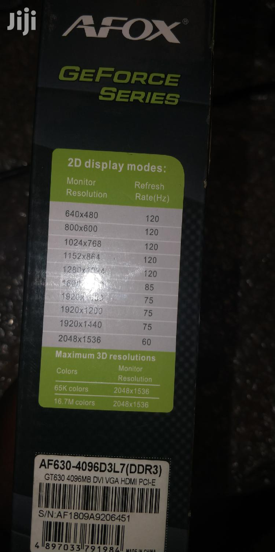 Afox Graphics Card GT630 DDR3 2GB | Computer Hardware for sale in Kampala, Central Region, Uganda