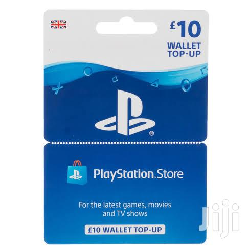 Playstation Network Funds 10 GBP UK Region | Video Games for sale in Kampala, Central Region, Uganda
