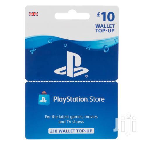 Playstation Network Funds 10 GBP UK Region