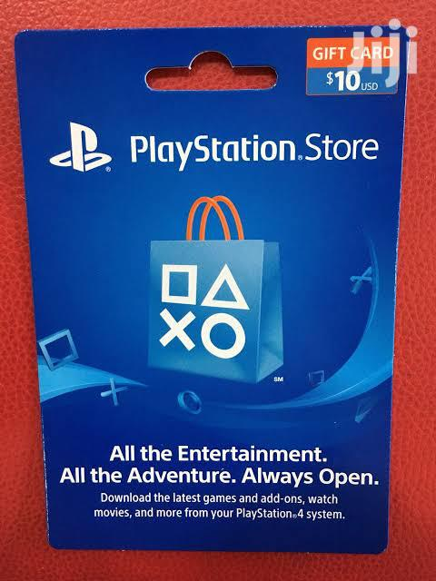 Playstation Gift Card For Usa Accounts