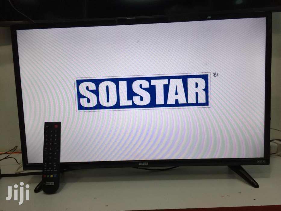 Solstar Brand New Flat Screen Tv 32 Inches | TV & DVD Equipment for sale in Kisoro, Western Region, Uganda