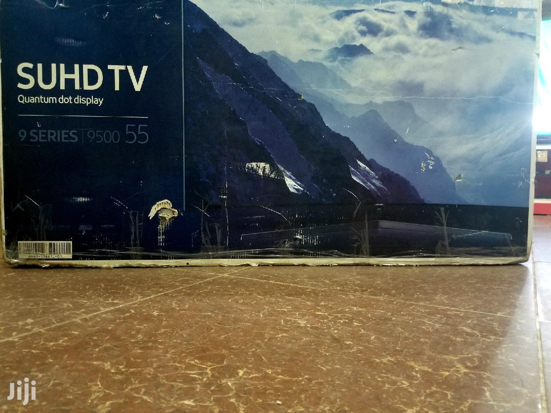 Brand New Samsung QLED Series 9 Smart Uhd 4k Tv 55 Inches | TV & DVD Equipment for sale in Kampala, Central Region, Uganda