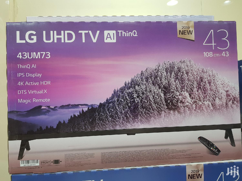 LG 43 Ultra HD 4K TV