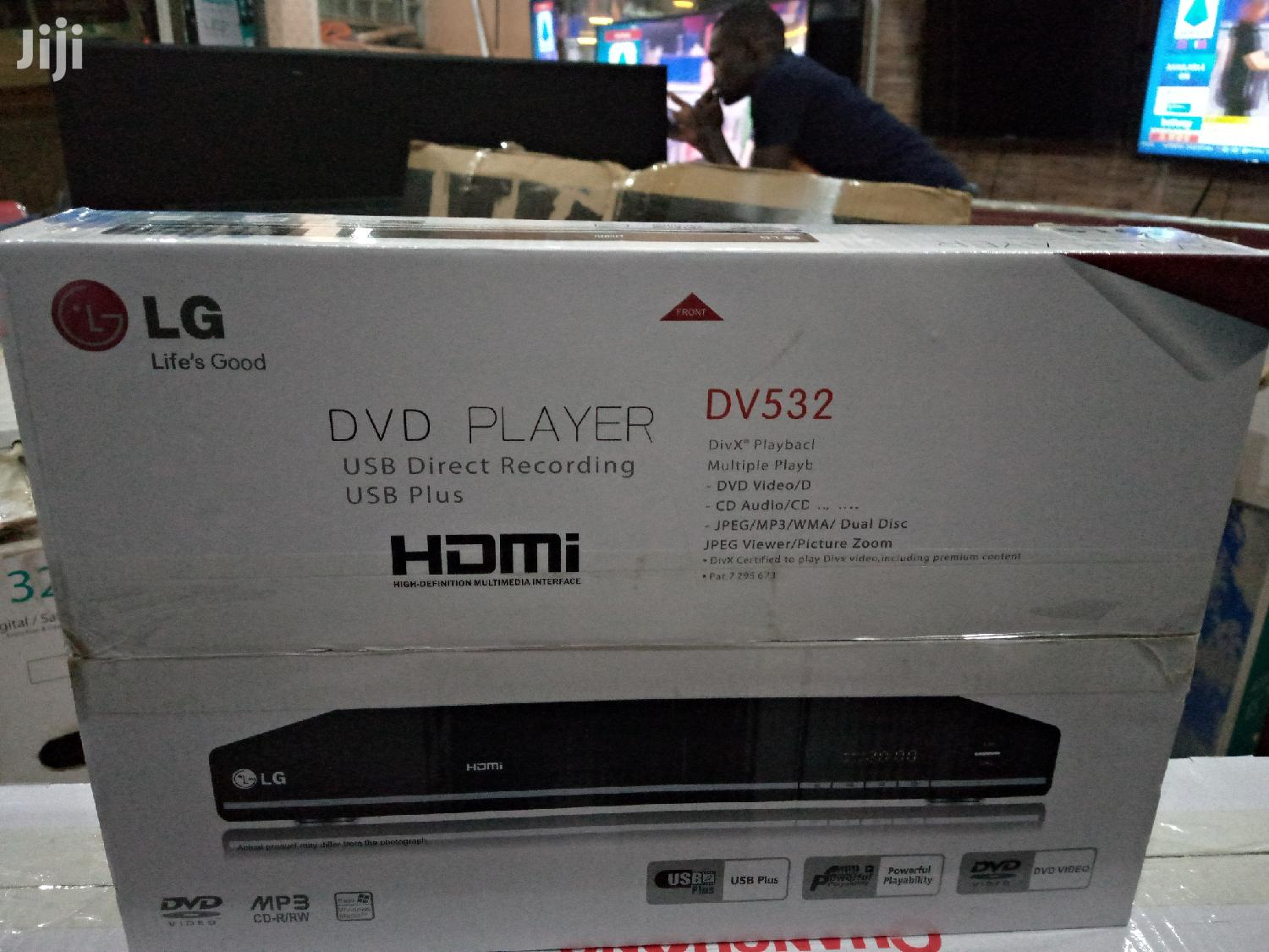 Brand New LG DVD Player With Hdmi Port