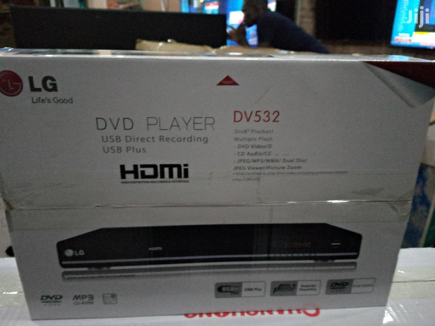LG DVD Player With Hdmi Port