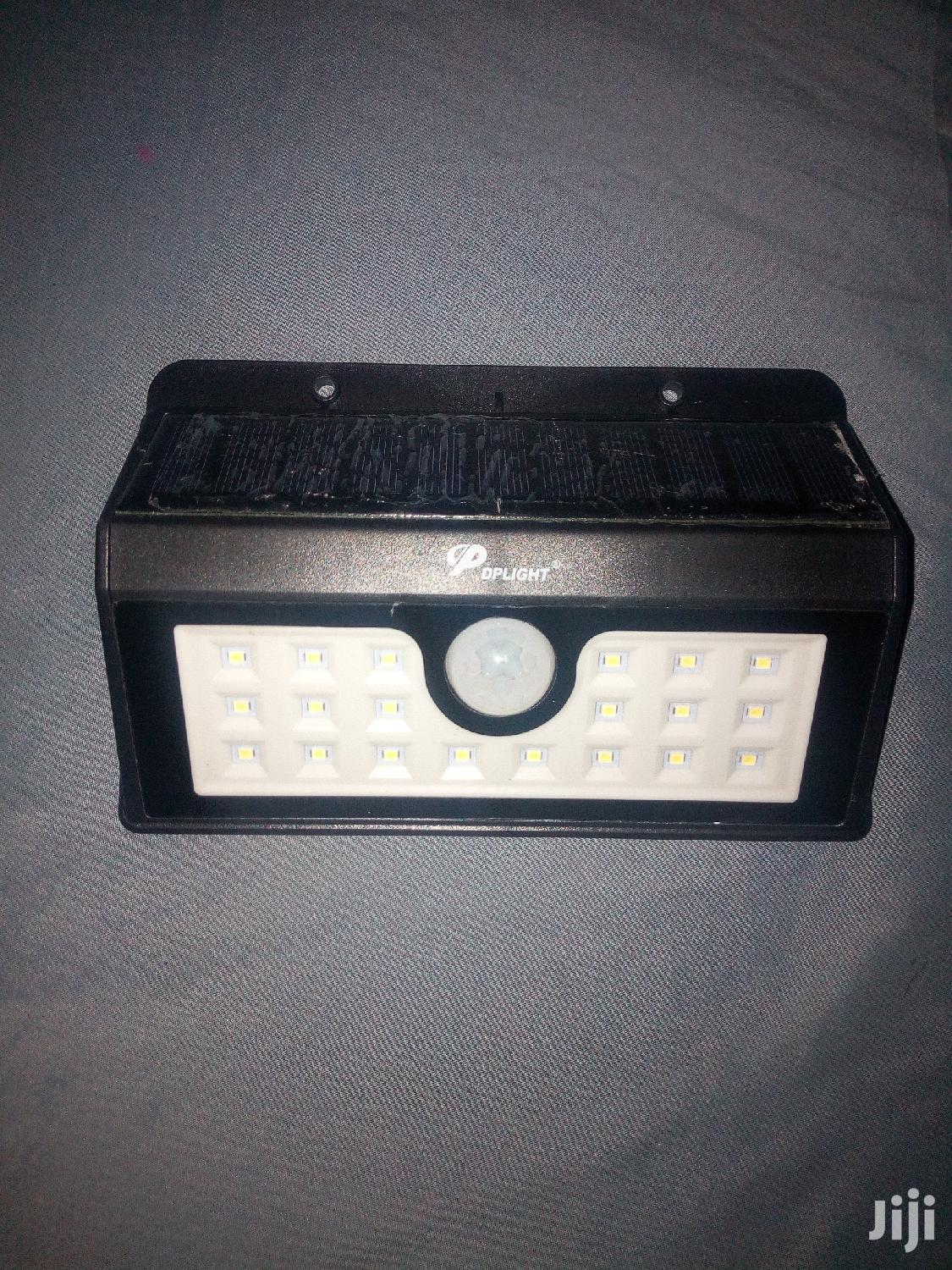 Solar Motion Sensor Security Light With Auto on and Off Func | Solar Energy for sale in Kampala, Central Region, Uganda