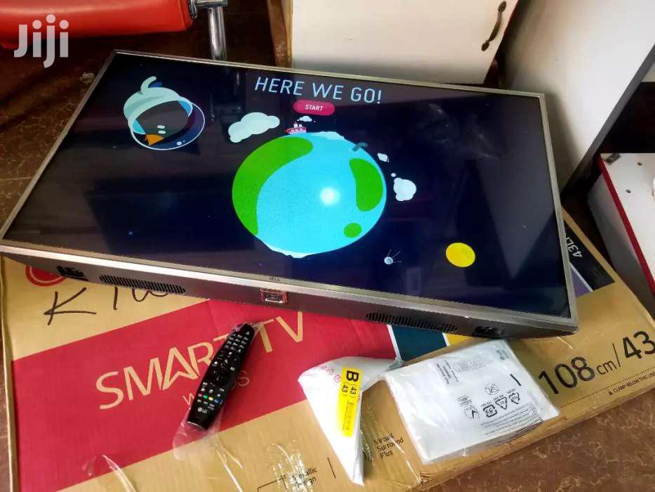 LG Smart UHD 4k TV 43 Inches | TV & DVD Equipment for sale in Kampala, Central Region, Uganda