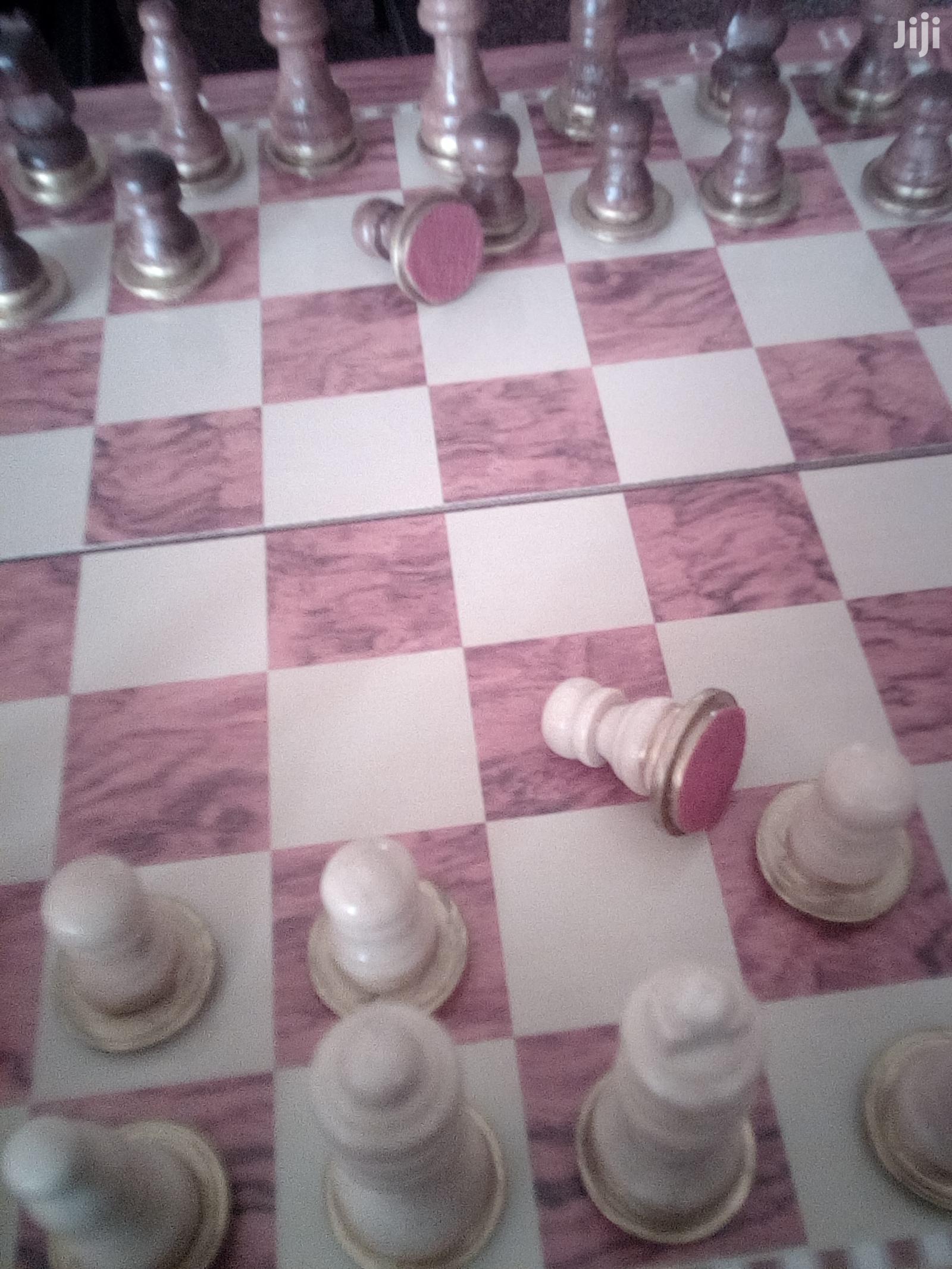 Chess Checkers Backgammon Set 3 In 1