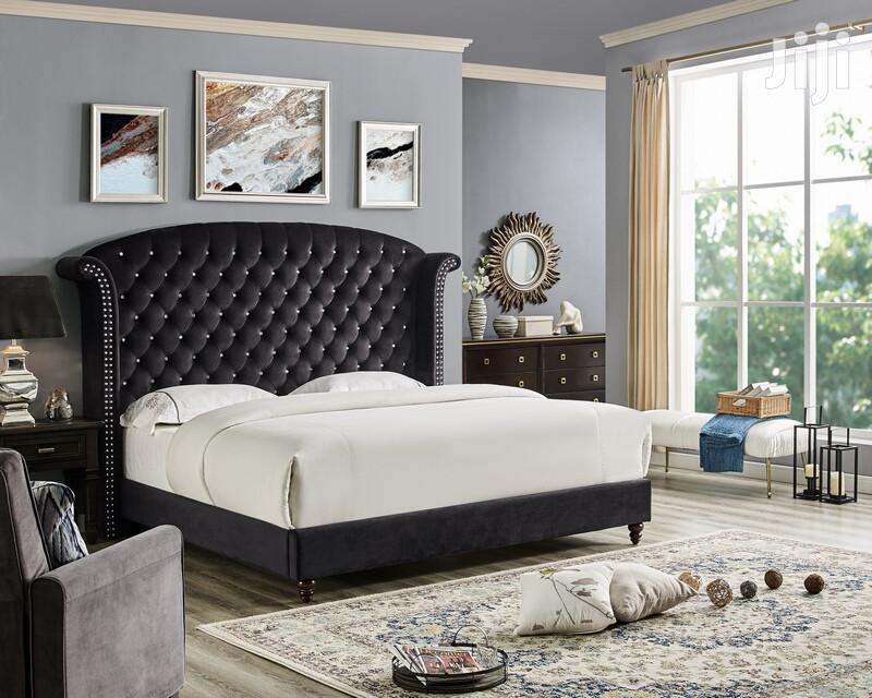 Kingsize Velvet Dressed Beds   Furniture for sale in Kampala, Central Region, Uganda