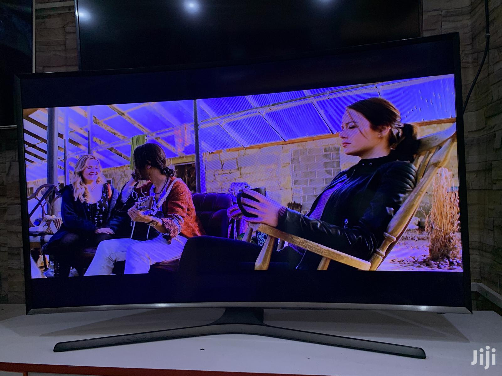 49inches Samsung Curve UHD 4K Smart | TV & DVD Equipment for sale in Kampala, Central Region, Uganda