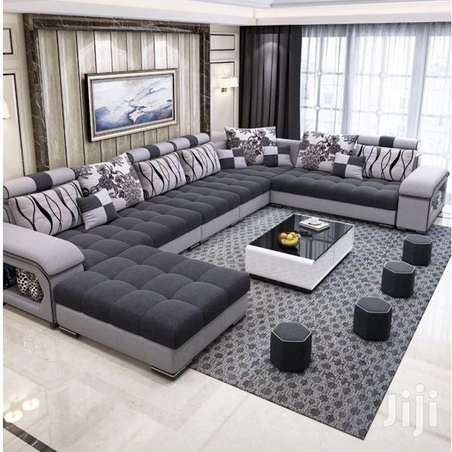 5 Piece U Sectional Sofas | Furniture for sale in Kampala, Central Region, Uganda