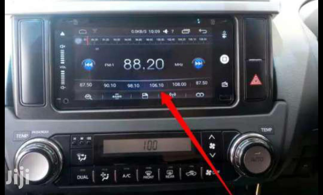 12gb Storage Android Radio Landcruiser 2014 Radio Upgradeed