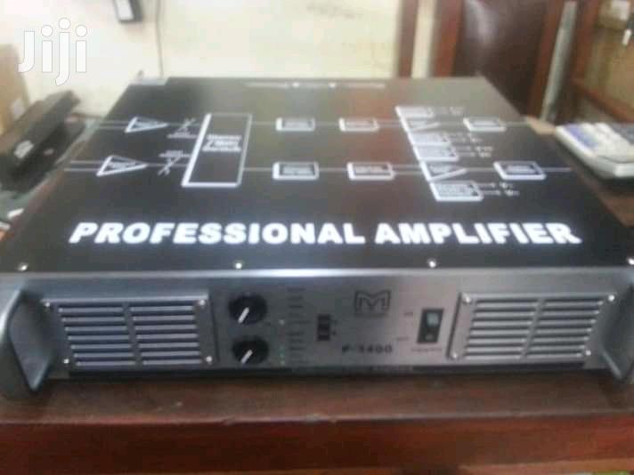 Power Amplifer Martin Audio