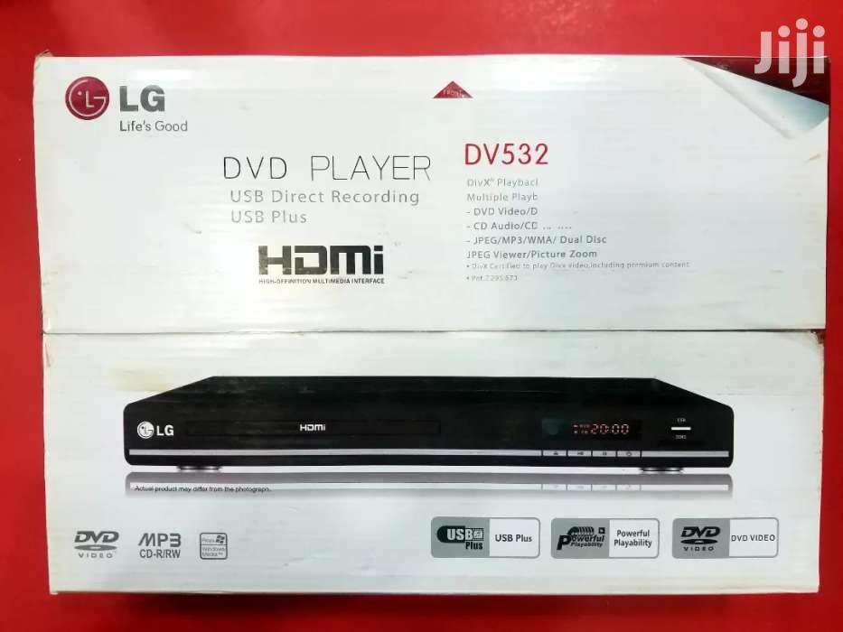 New LG DVD Player