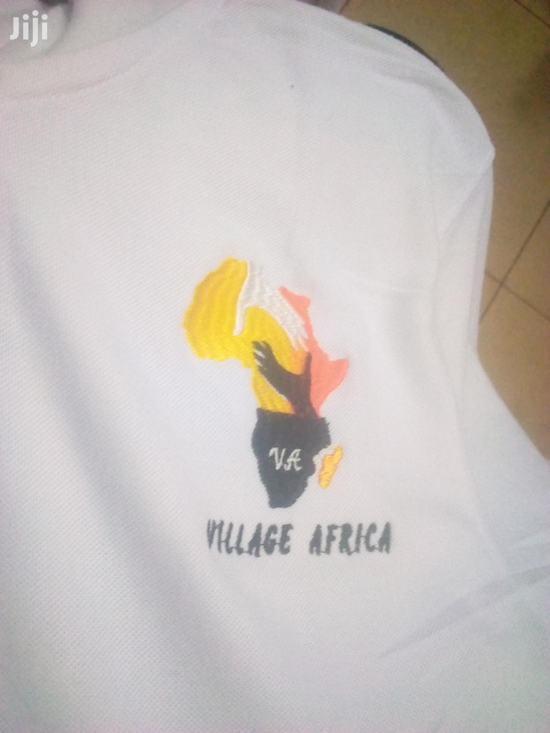 Embroidery T-Shirts | Manufacturing Services for sale in Kampala, Central Region, Uganda