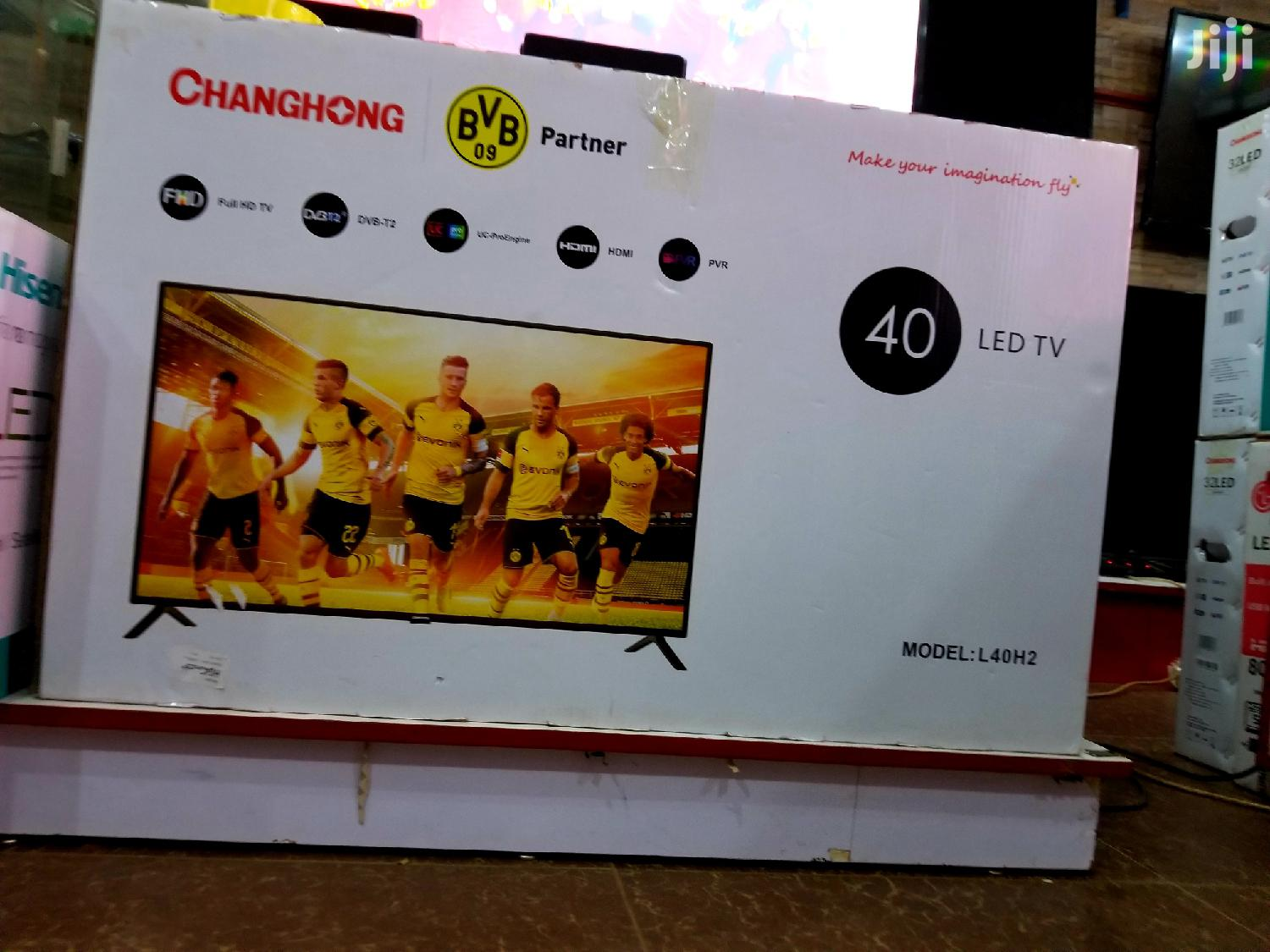 New Changhong LED Flat Screen TV 40 Inches | TV & DVD Equipment for sale in Kampala, Central Region, Uganda