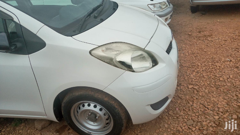 Toyota Vitz 2008 White | Cars for sale in Kampala, Central Region, Uganda