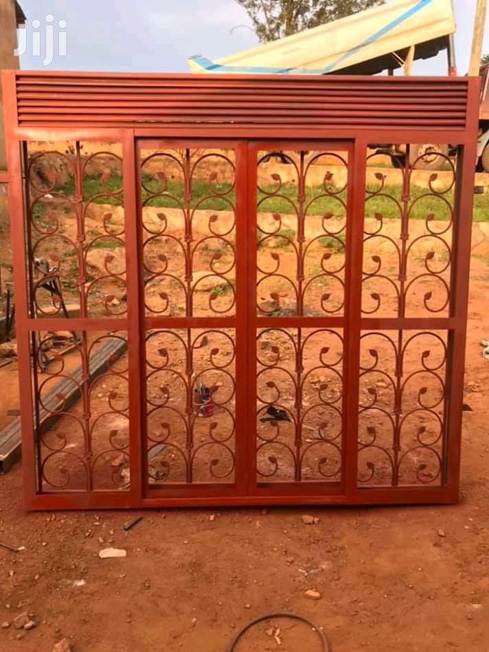 Metallic Sliding Doors (8*8)Ft