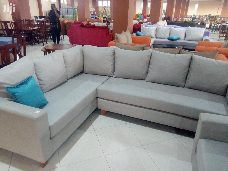 Comfortable L Sofa | Furniture for sale in Kampala, Central Region, Uganda