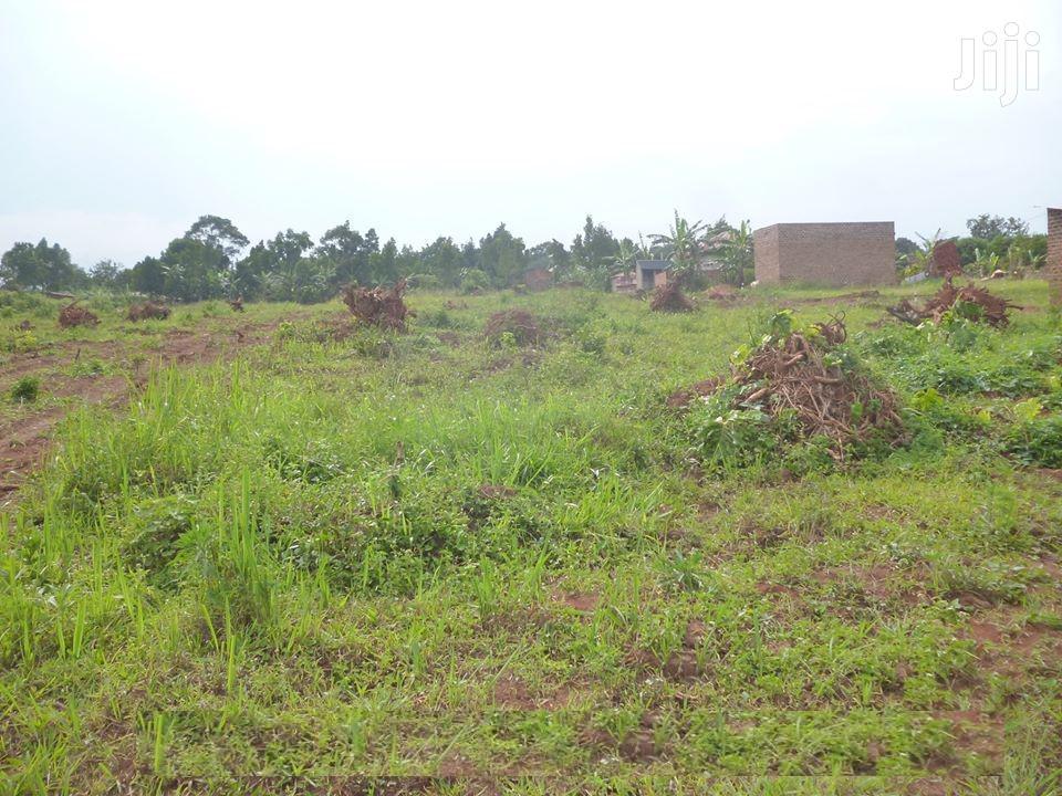 Plots In Gayaza Namavundu For Sale