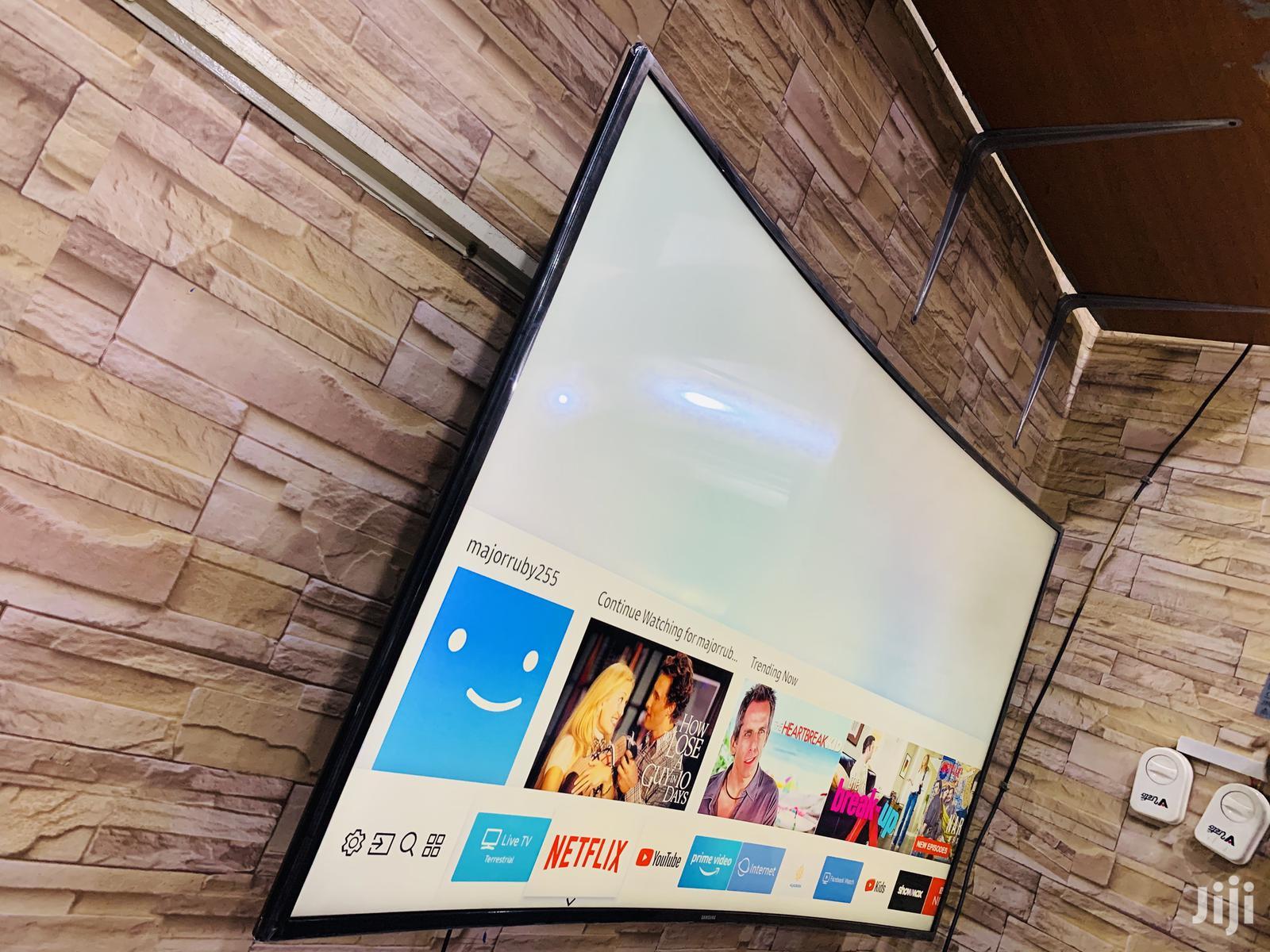 Samsung 55inches Curve Smart Tv UHD 4K | TV & DVD Equipment for sale in Kampala, Central Region, Uganda