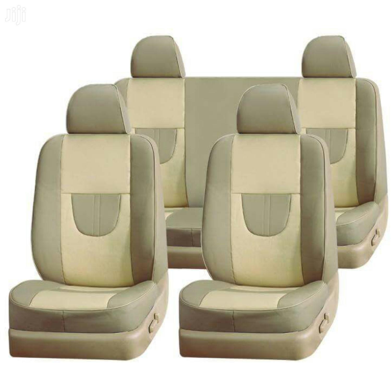 Cream Car Seat Covers