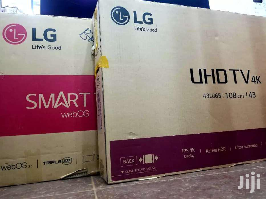 New LG Smart UHD 4k TV 43 Inches | TV & DVD Equipment for sale in Kampala, Central Region, Uganda