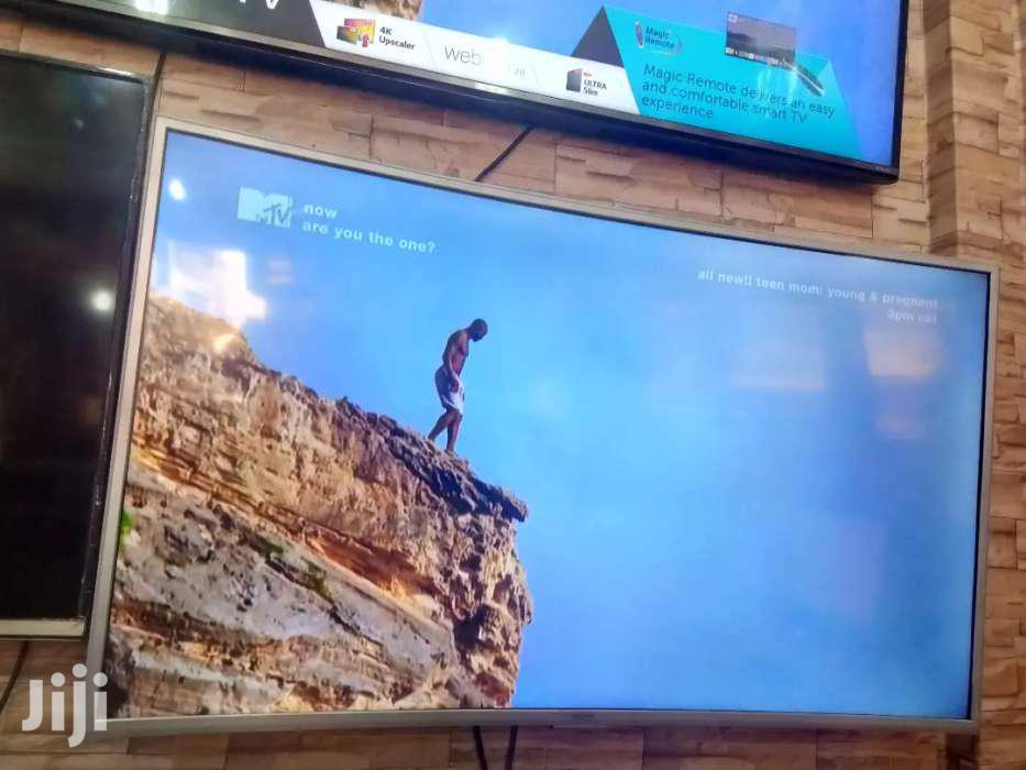Samsung 55inches Curve UHD 4K Smart Tv