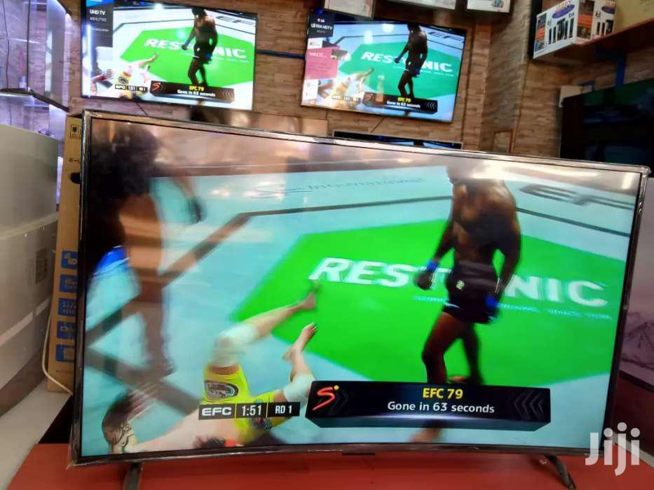 Samsung 55inches Curve UHD 4K Smart Tv | TV & DVD Equipment for sale in Kampala, Central Region, Uganda