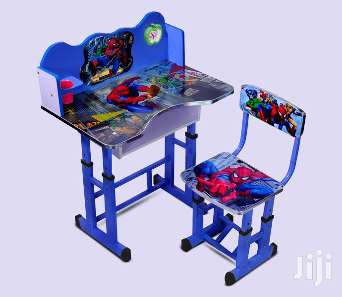 Kids & Children Study Tables Desk With Chair + Alarm Clock Set | Children's Furniture for sale in Kampala, Central Region, Uganda