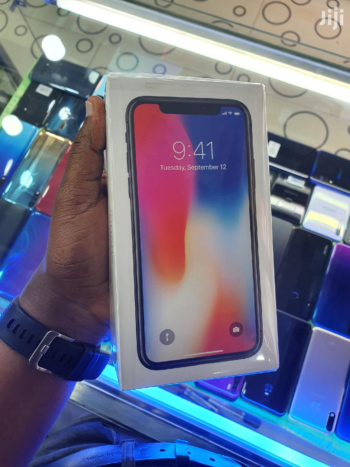 Archive: New Apple iPhone X 256 GB Gray