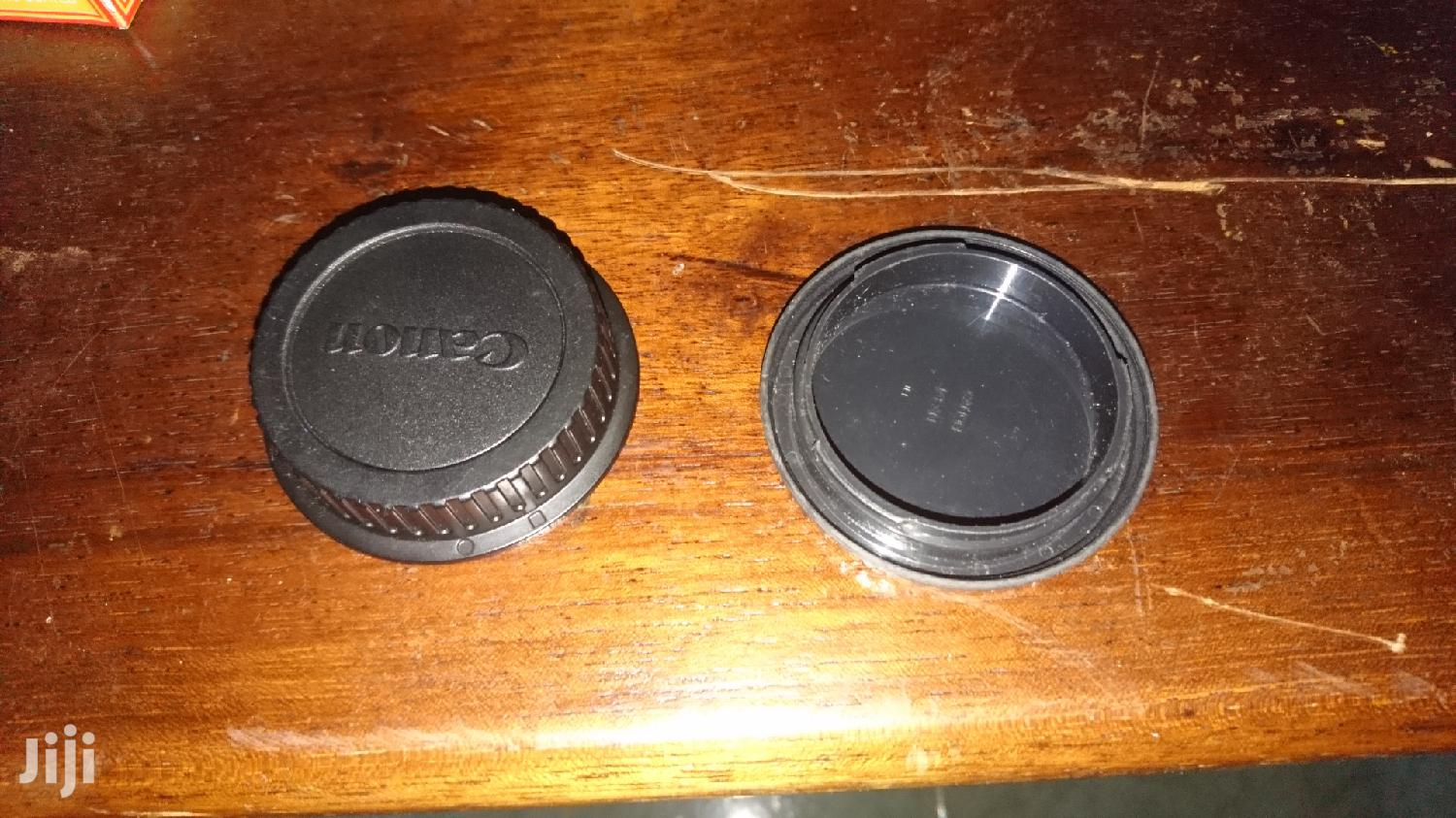 2 Canon Lens And Camera Shutter Covers | Accessories & Supplies for Electronics for sale in Kampala, Central Region, Uganda