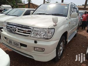 Toyota Land Cruiser 2004 4x4 White   Cars for sale in Central Region, Kampala