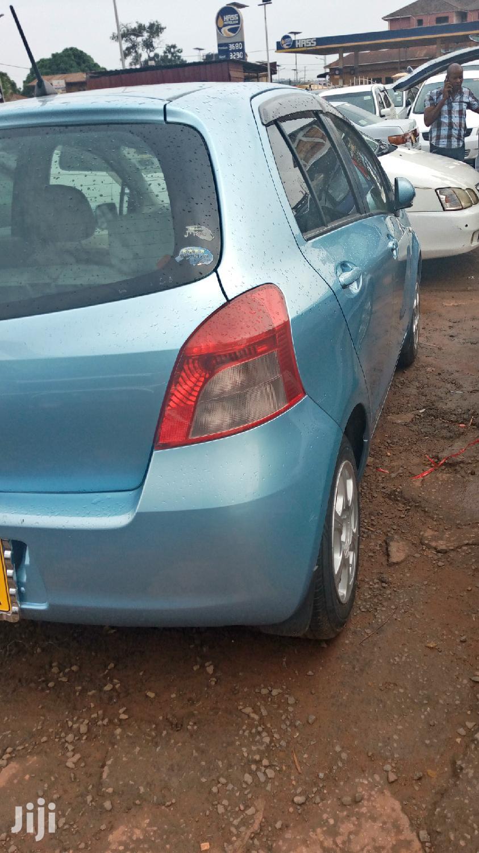 Toyota Vitz 2008 Blue   Cars for sale in Kampala, Central Region, Uganda